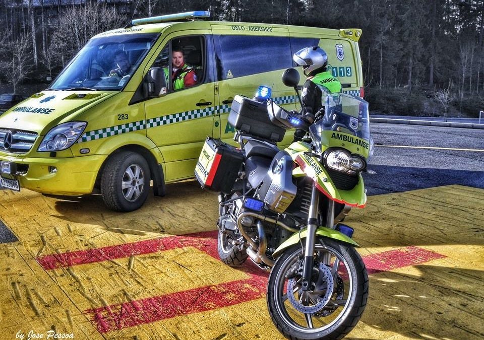 En milepæl for ambulansefaget