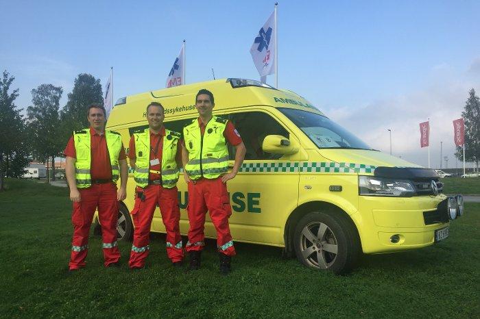 Norges ambulanselandslag klar til dyst