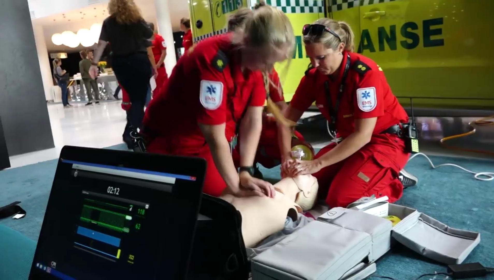 Thomas Renngård mannen bak Nasjonalt ambulansemesterskap