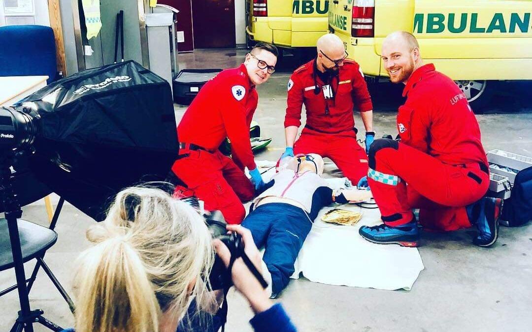 Norges nye ambulanselandslag
