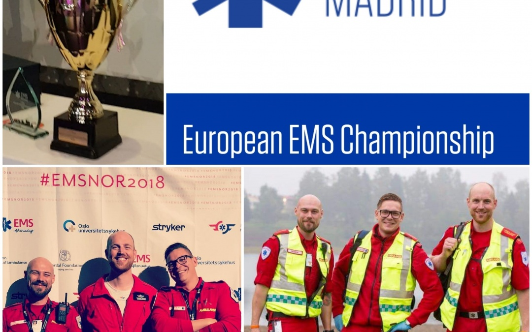 Ambulanselandslaget til EMS Madrid