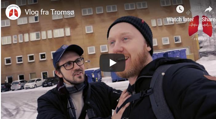Vlog fra livepodcast i Tromsø