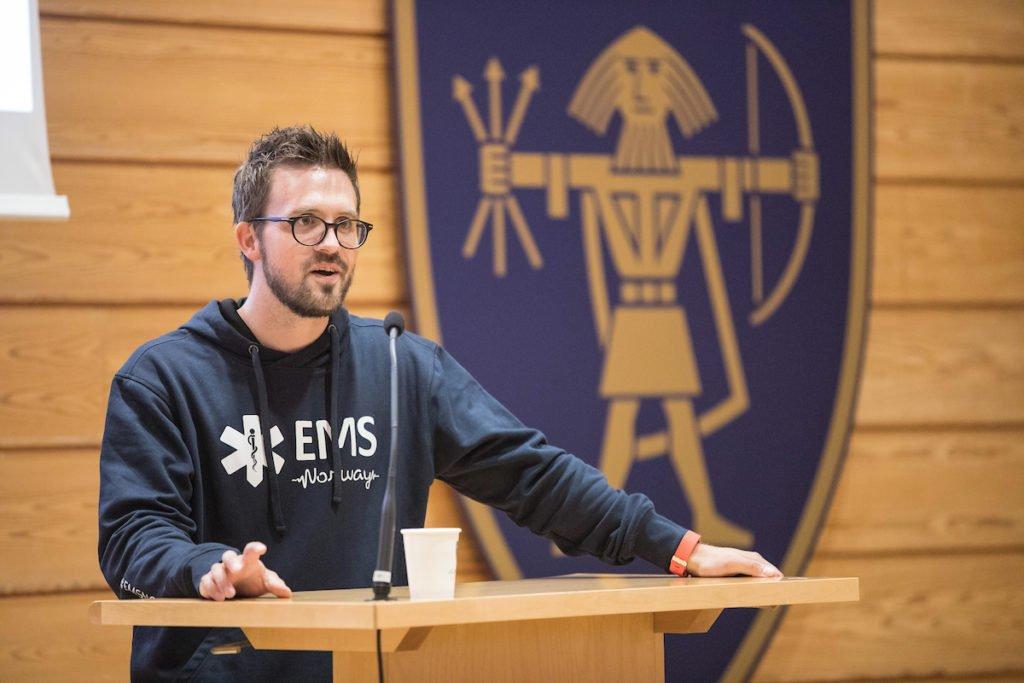 Thomas Renngård leder av EMS Norway